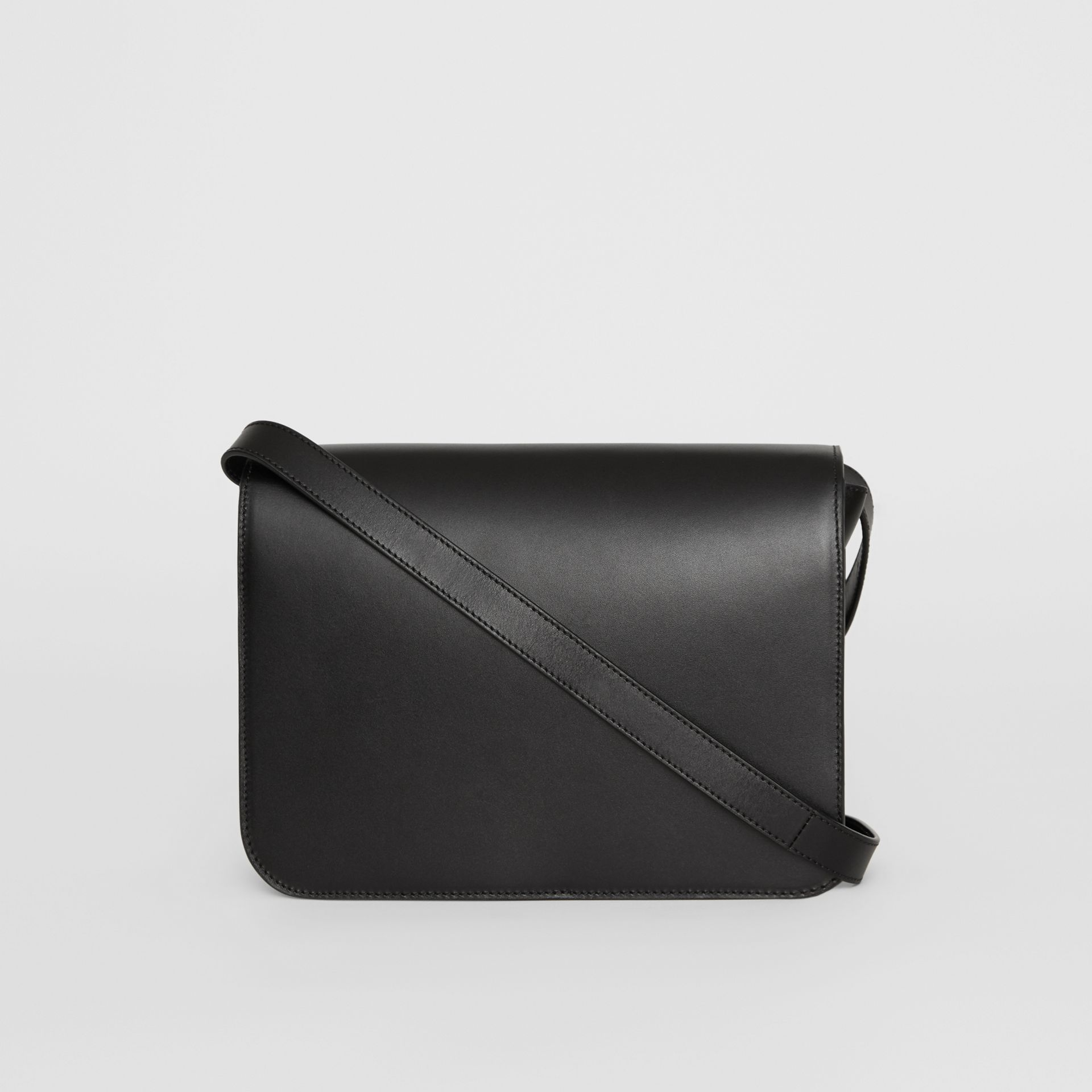 Medium Leather TB Bag in Black - Women | Burberry - gallery image 7