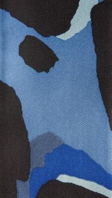 图案动物纹印花丝绸窄版围巾