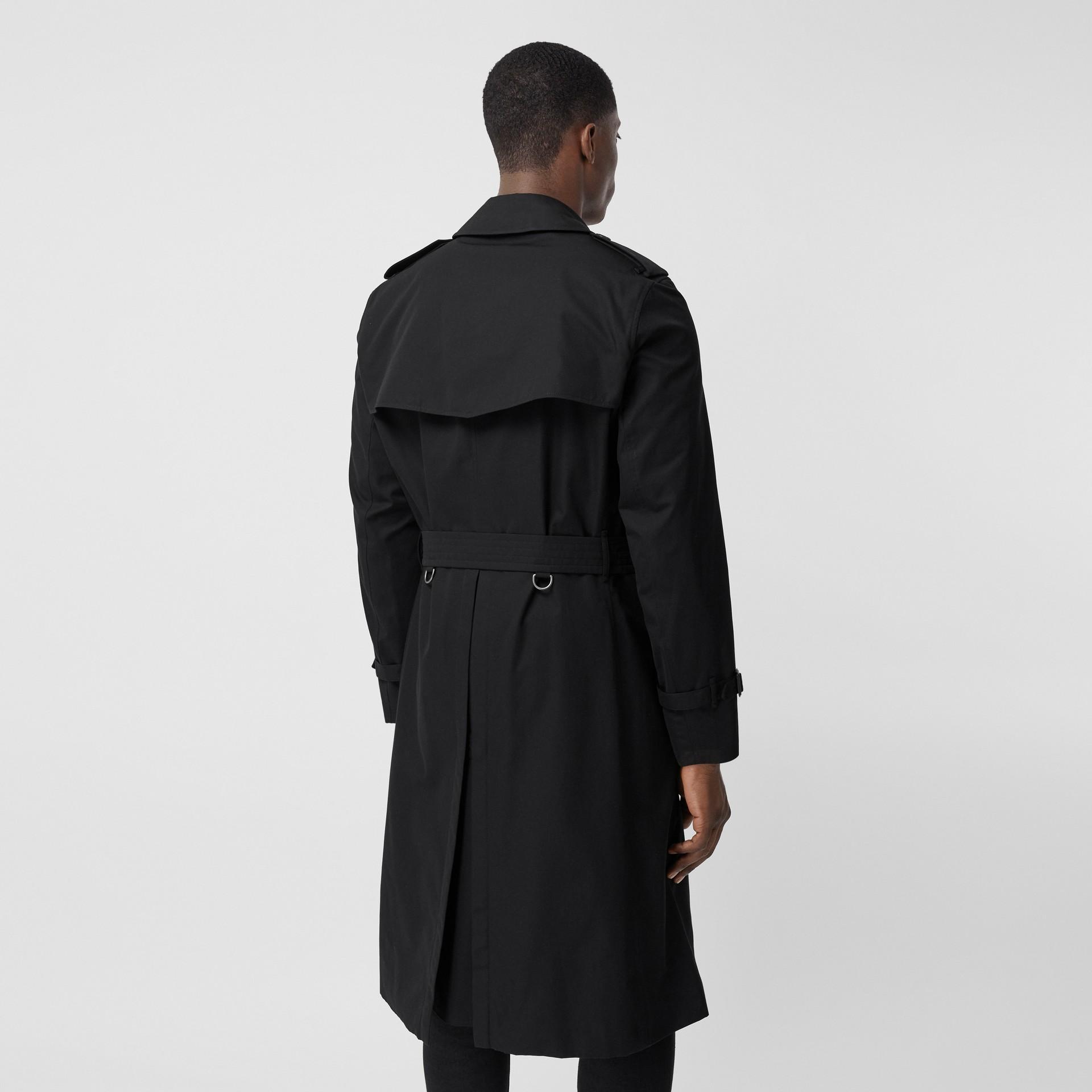 The Chelsea - Trench coat Heritage longo (Preto) - Homens | Burberry - galeria de imagens 2