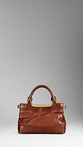 Small Bridle Leather Tote Bag