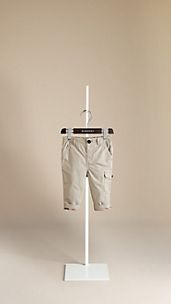 Cargo Pocket Cotton Chinos
