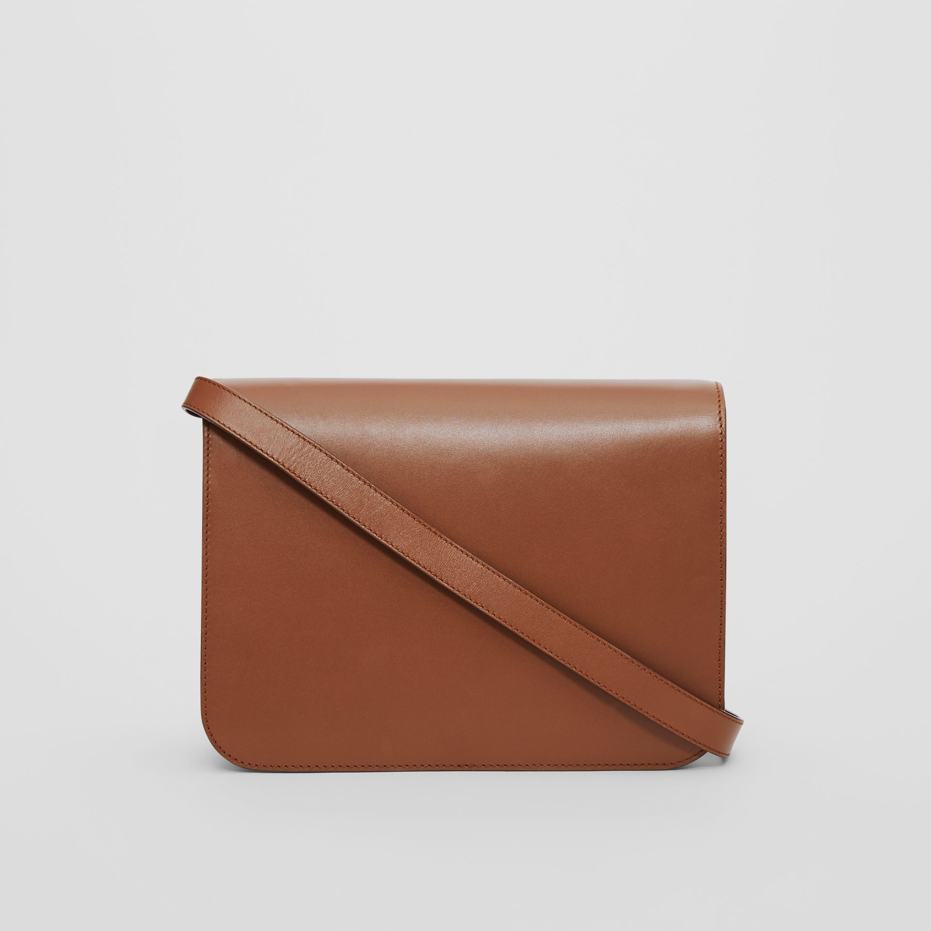 Medium Leather TB Bag in Malt Brown - Women | Burberry - gallery image 7