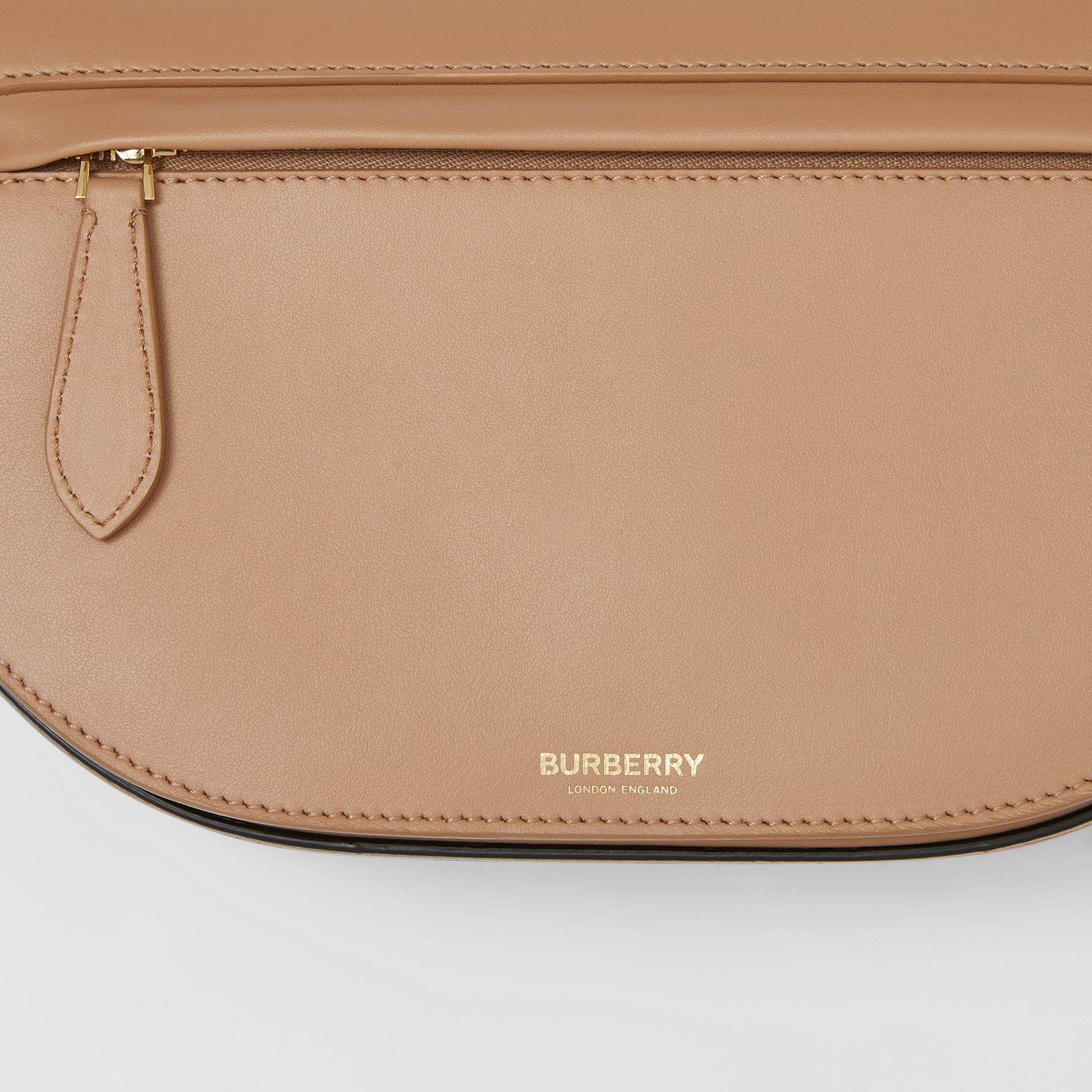 Small Leather Olympia Bag in Camel - Women | Burberry - gallery image 1
