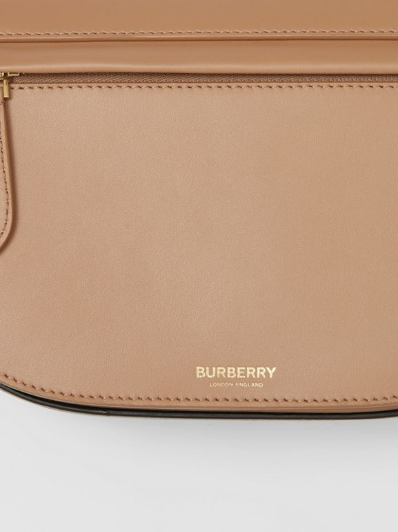 Small Leather Olympia Bag in Camel - Women | Burberry - cell image 1