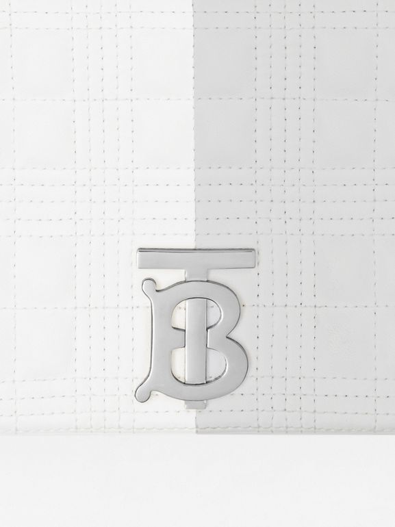Small Quilted Tri-tone Lambskin Lola Bag - Women | Burberry United States - cell image 1