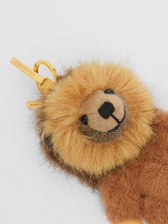 Thomas Bear Charm in Lion Costume in Archive Beige - Women | Burberry - cell image 1