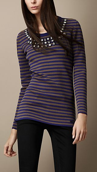 Embellished Compact Cotton Tunic