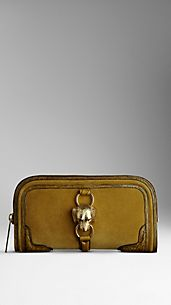 Country Animal Suede Clutch