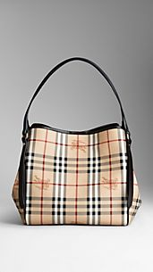 Small Haymarket Check Tote Bag