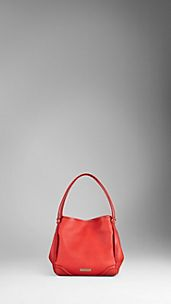 Small London Leather Tote Bag