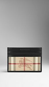 Haymarket Check ID Card Case