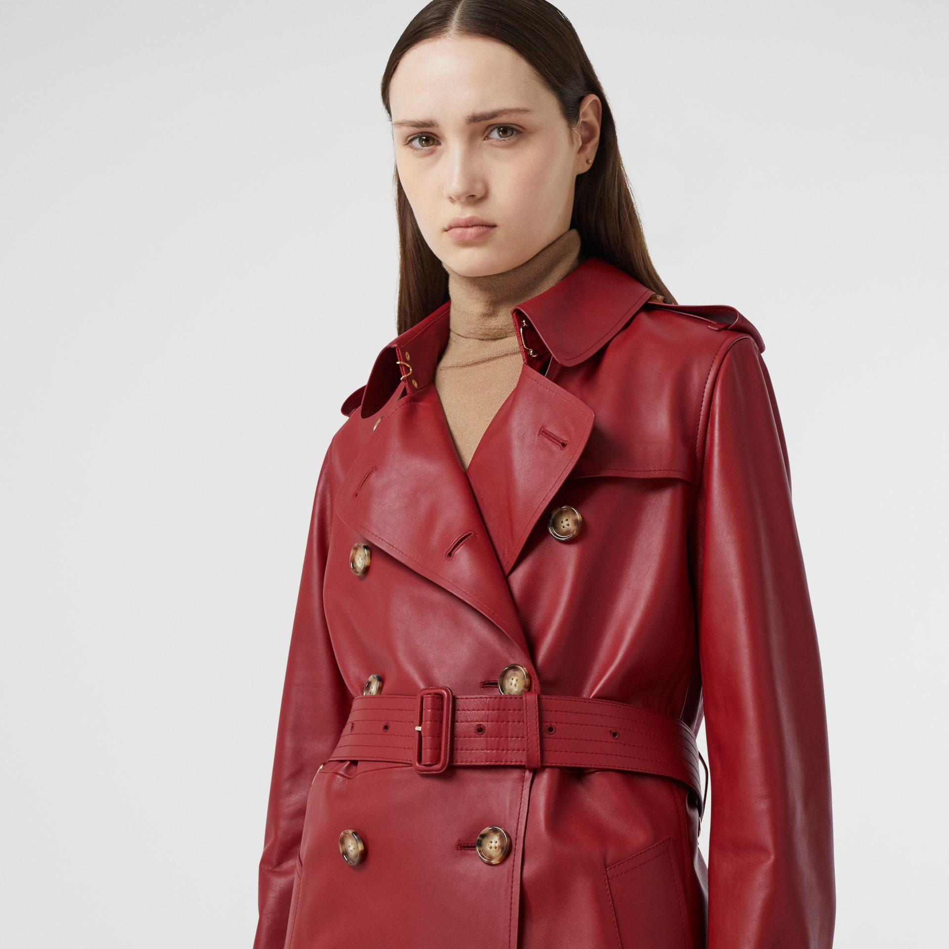 Leather Trench Coat - Women | Burberry - gallery image 1