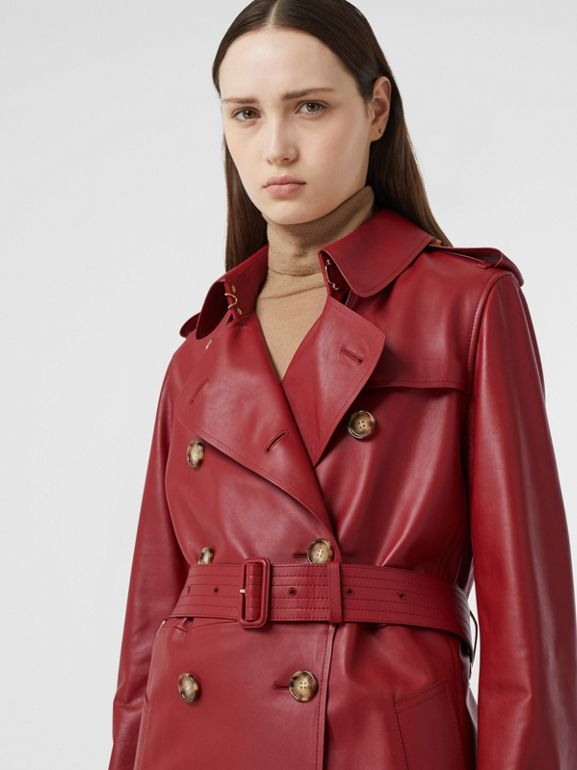 Leather Trench Coat - Women | Burberry - cell image 1