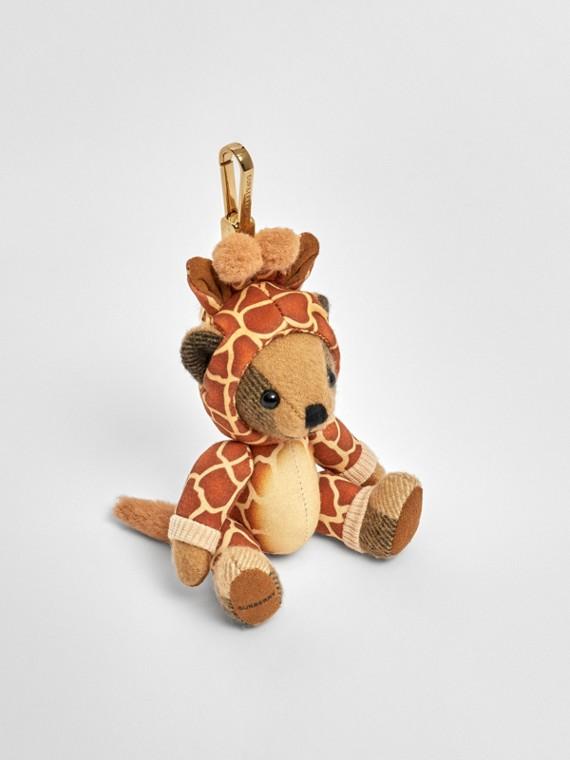 Thomas Bear Charm in Giraffe Costume in Archive Beige