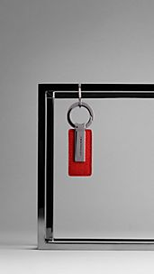 London Leather Key Ring