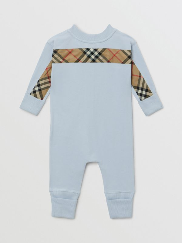 Check Trim Organic Cotton Three-piece Baby Gift Set - Children | Burberry United Kingdom - cell image 3