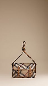 Bolso messenger de checks exploded