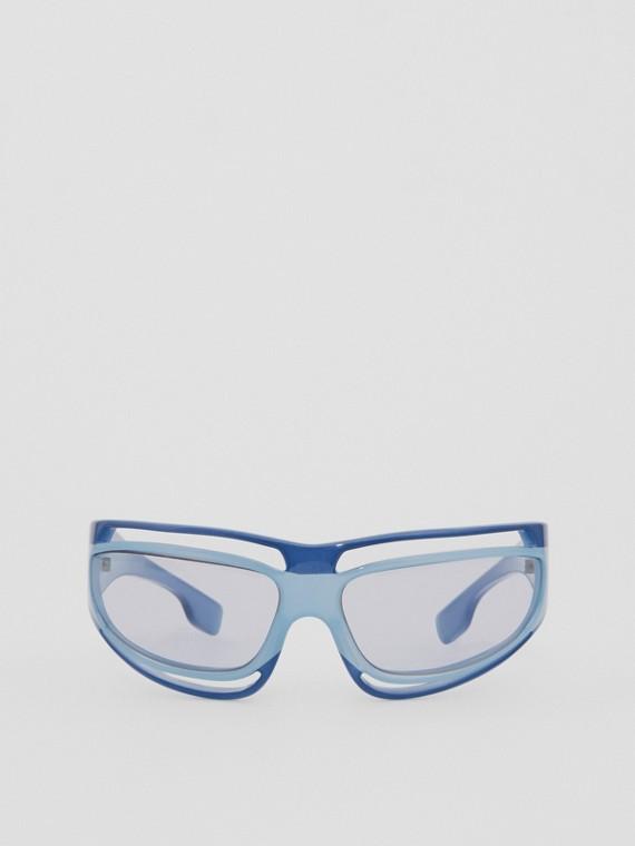 Eliot Sunglasses in Azure Blue
