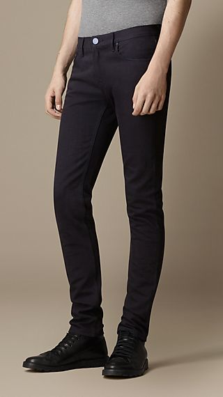 Shoreditch Indigo Dyed Skinny Fit Jeans