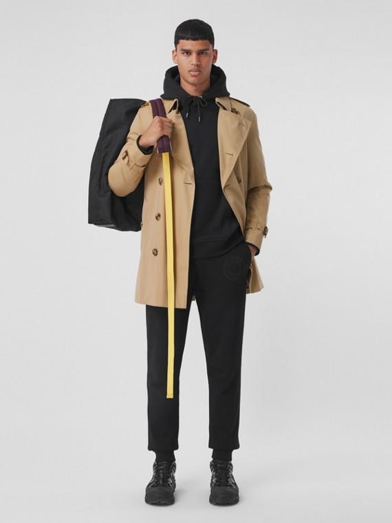 The Short Wimbledon Trench Coat in Honey