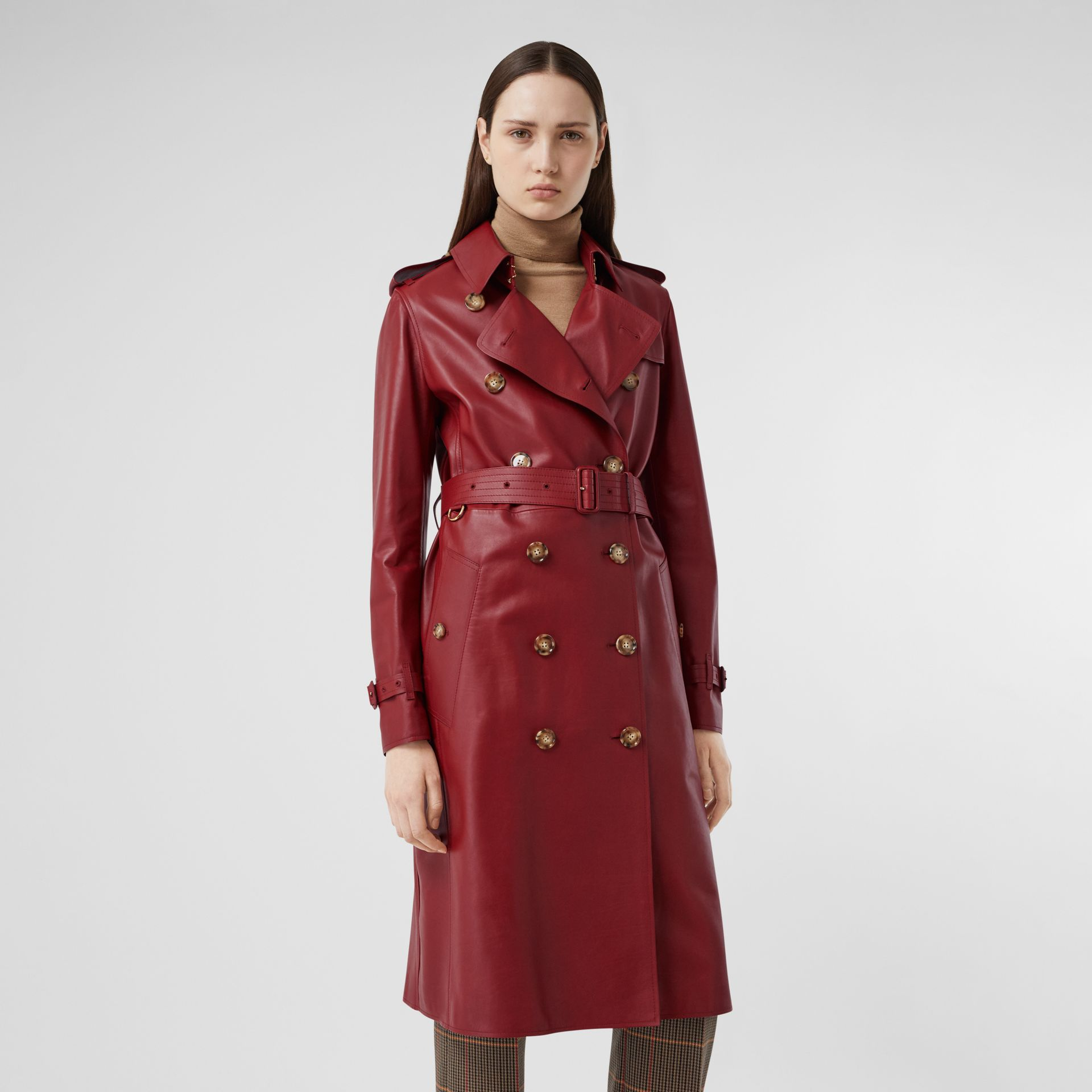 Leather Trench Coat - Women | Burberry - gallery image 5