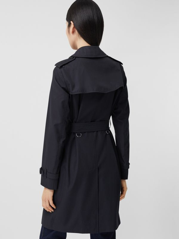 Trench coat Heritage Kensington de longitud media (Medianoche) - Mujer | Burberry - cell image 2