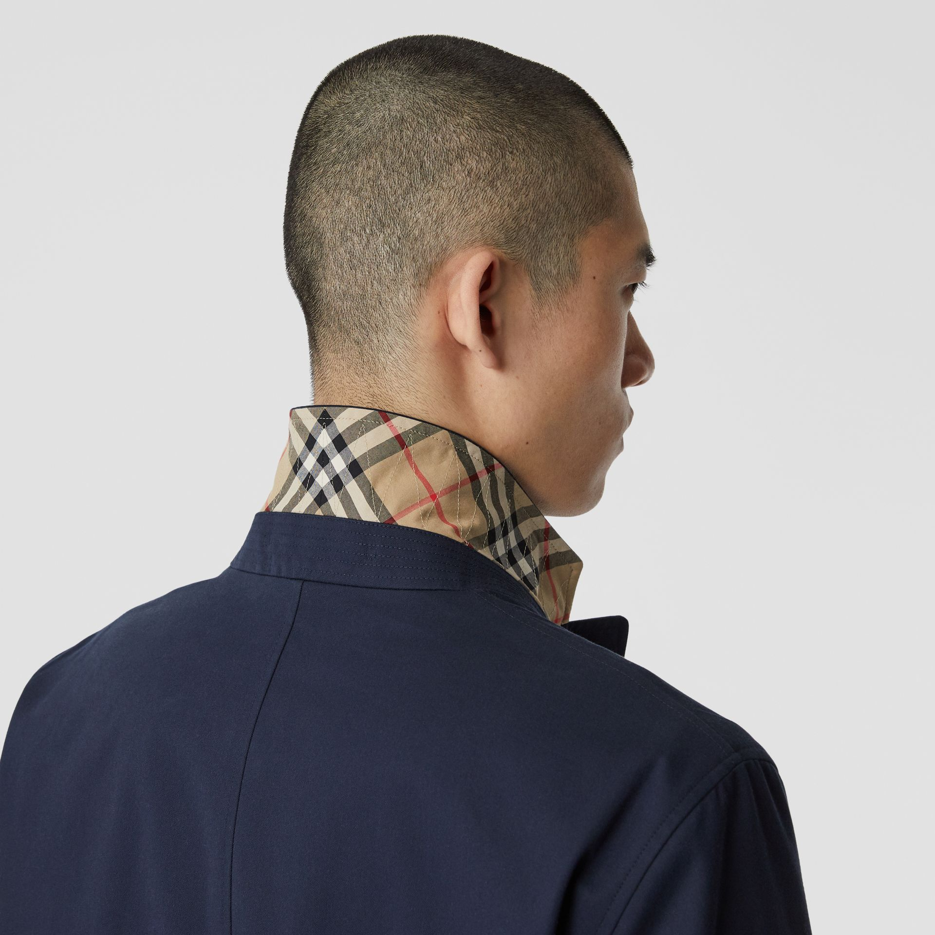 Cotton Gabardine Car Coat - Men | Burberry Singapore - gallery image 1
