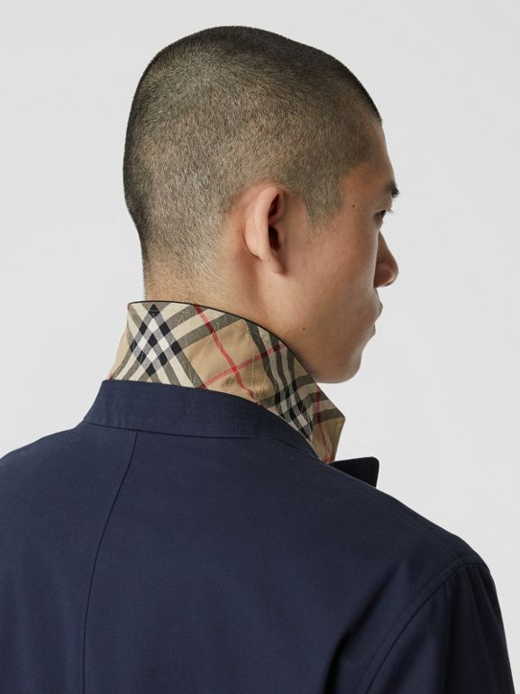 Cotton Gabardine Car Coat - Men | Burberry Singapore - cell image 1