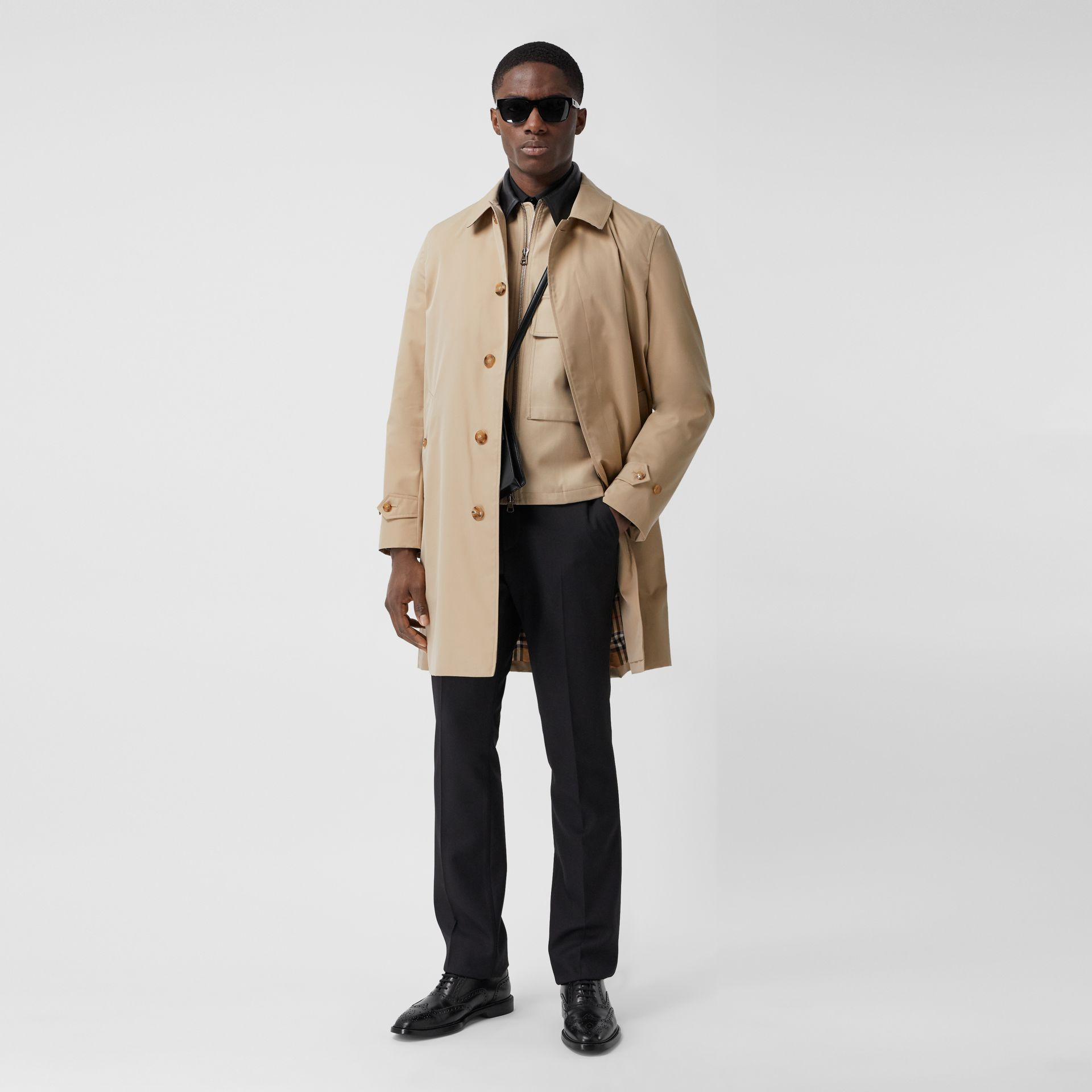 The Pimlico Heritage Car Coat in Honey - Men | Burberry - gallery image 0