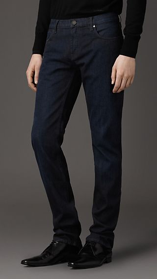 Steadman Saturated Indigo Slim Fit Jeans