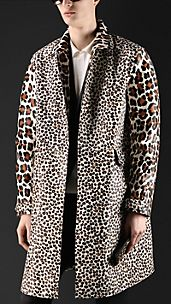 Spotted Animal Print Caban