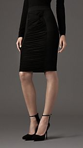 Corset Jersey Pencil Skirt