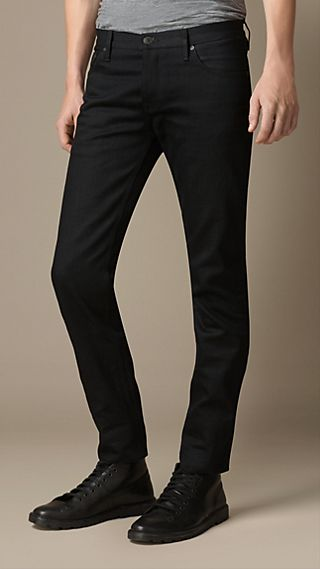 Steadman Black Selvedge Slim Fit Jeans