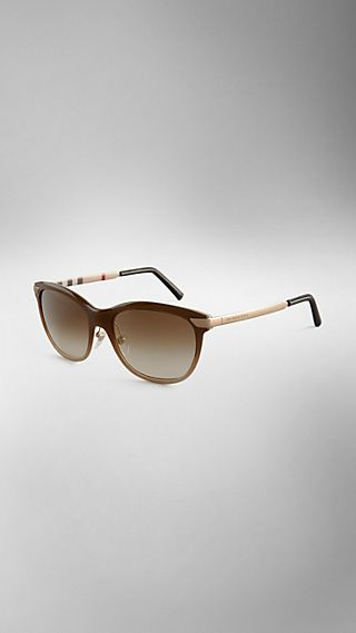 Trench Collection Round Sunglasses