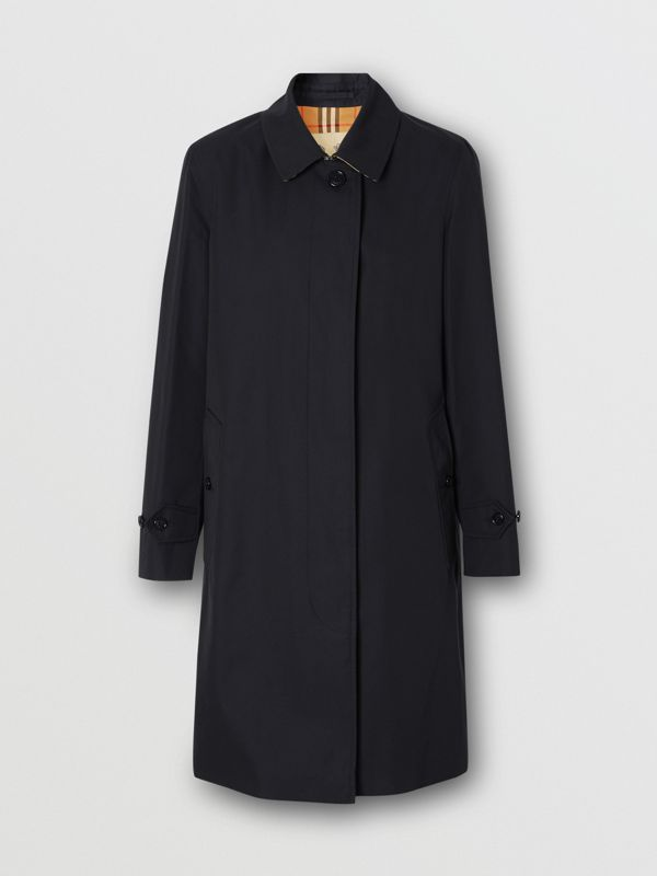The Pimlico Heritage Car Coat in Midnight - Women | Burberry - cell image 3
