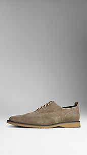 Classic Suede Brogues