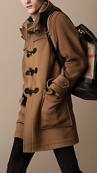 Double-Face Wool Duffle Coat