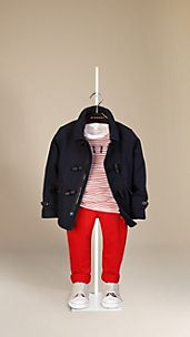 Cotton Canvas Duffle Coat