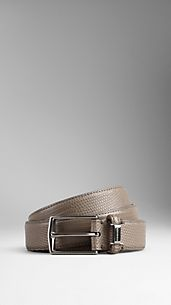 Lizard Leather Belt