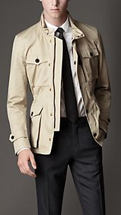 Cotton Military Field Jacket