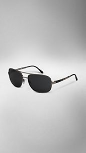 Square Aviator Polarised Sunglasses