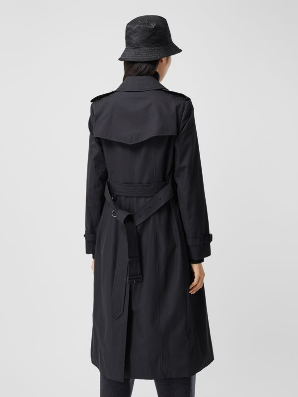 Trench coat Heritage The Chelsea lungo (Blu Notte) - Donna | Burberry - cell image 2