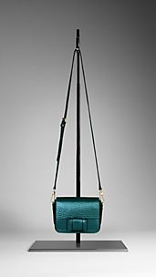 Bow Detail Metallic Crossbody Bag