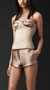 Bustier in satin