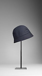 Waxed Cotton Rain Hat