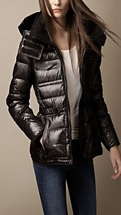 Sport Collection Hooded Down-Filled Puffer
