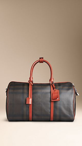 Smoked Check Holdall