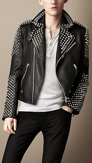 Multi-Stud Biker Jacket