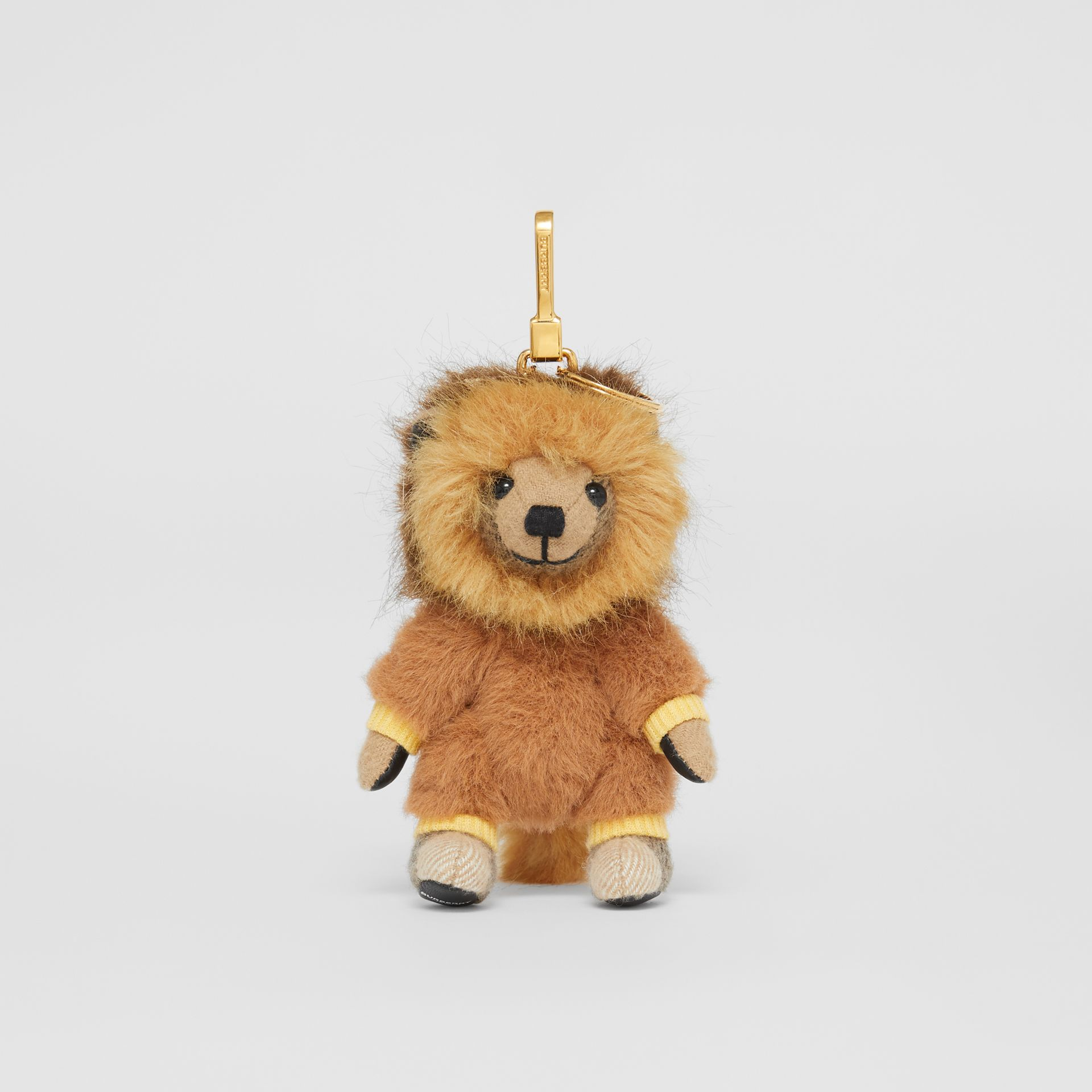 Thomas Bear Charm in Lion Costume in Archive Beige - Women | Burberry - gallery image 2