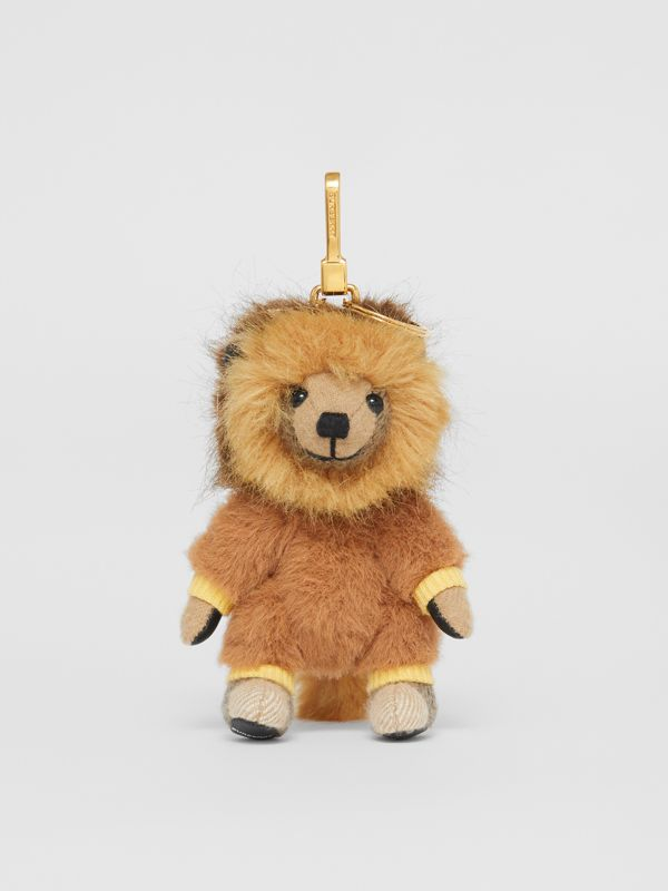 Thomas Bear Charm in Lion Costume in Archive Beige - Women | Burberry - cell image 2